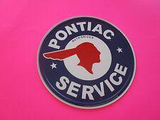 tin metal decor gas oil dealer garage repair shop advertising petroleum pontiac