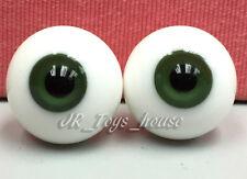Glass Eye 18mm Dark Green fits SD Super Dollfie DD 1/3