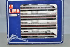 N Scale Made In Italy 123903 G - IC DB 4-Car Electric Railcar Set LIMA