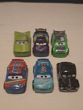 DISNEY PIXAR CARS MINI RACERS: SERIES 5 (6 CARS NUMBERS 49, 53, 54, 55, 56, 47)