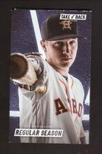 Alex Bregman--Houston Astros--2019 Pocket Schedule--AT&T Sportsnet