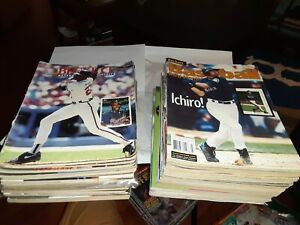 30 BECKETT Baseball/Football CARD MONTHLY Magazines Derek Jeter Tiger Woods ETC.