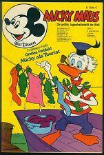 Micky Maus Nr.2 vom 8.1.1972 mit Beilage Mini-Poster, Gutscheinecke - TOP Z1