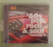 my music original masters  60s '60s POP ROCK & SOUL volume 4    CD NEW  sixties