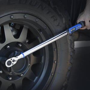 "Programmable ELECTRONIC 1/2"" INCH DRIVE RATCHETING TORQUE WRENCH 12.5-250 FT-LBS"