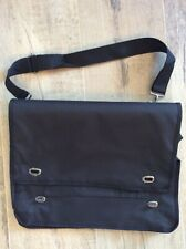 Black computer/office bag with handle and shoulder strap