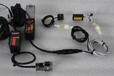 OMRON ZX-LDA11-N SMART SENSOR+ ZX-SAM13 APPLICATION UNIT& ZX-LT001 SENSOR HEAD