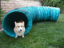 "Tough Vinyl 10' Dog Agility Equipment Tunnel 6"" ring spacing"