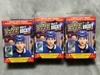 2020-21 Upper Deck Hockey Series 2 Blaster Box Lot of 3