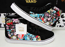 Vans SK8 Hi Reissue Disney Rabbit Hole Black Men's VN0003CAHSA  Size: 9.5
