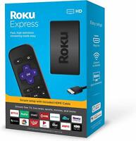 Brand New Roku Express HD Streaming Media Player 2019 Model - 3930R