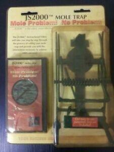 Professional Mole Rodent Trap JS2000 Never Used Original Packaging