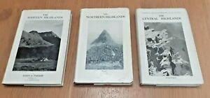 3 Scottish Mountaineering Club Guides 1950's/60's North West Central Highlands