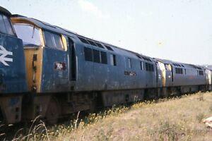 Original colour slide of D1016 BR class 52 Western diesel hydraulic loco
