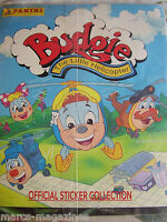 RARE PANINI 1995 BUDGIE THE LITTLE HELICOPTER STICKER BOOK ALBUM EMPTY UNUSED