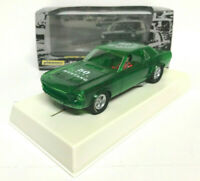Pioneer P058 Mustang Notchback NSCC Green Special Edition Slot Car Boxed