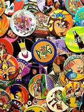 90's Pogs - 50x Random Pogs / Tazo Bundle - Pogman etc - Vintage Retro Gaming