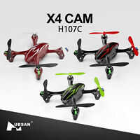 Hubsan X4 H107C 2.4G 4CH 6Axis RC Quadcopter W/ 480P Camera LED RTF(3 colors)
