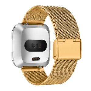 For Fitbit Versa 2/Versa Lite Milanese Wrist Stainless Metal Bracelet Strap Band