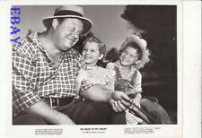 Bobby Driscoll Luana Patten Burl Ives VINTAGE Photo So Dear to My Heart