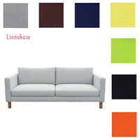 Custom Made Cover Fits IKEA Karlstad 3 Seat Sofa, Three Seater Sofa, Clearance