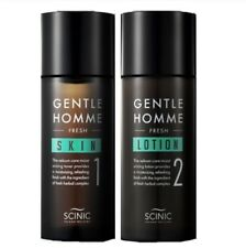 SCINIC Gentle Homme Gift Set Skin 150 ml + Lotion 150 ml Moisturizing Recovering