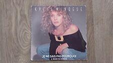 """Kylie Minogue - Je ne Sais pas Pourquoi- 7"""" Picture Sleeve vinyl single 45 RPM"""