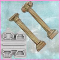 Silicone Molds Ancient Columns Fondant Sugarcraft Cake Cupcakes Decorating Tools