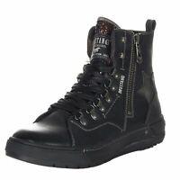 Mustang Damen Schuhe Damenschuhe Damensneaker Sneaker High Top Boots 1338-502