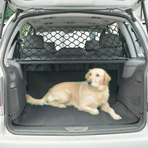 Universal Car Dog Guard Adjustable Pet Safety Barrier Headrest Travel Fence Mesh