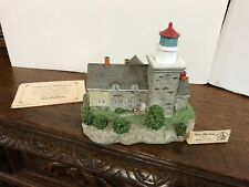 """Harbour Lights Happy Holidays """"Thirty Mile Point, New York"""" Lighthouse Ornament"""