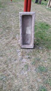 Sandsteintrog Schweinetrog  0,93 m Rot Alt Antik Nostalgie Nr.8 gerne Versand