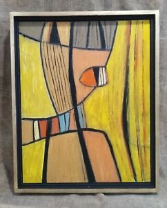 Mid  C20th Abstract Oil, Signed  Terry Frost