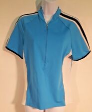 She Beest Blue Short Sleeve Cycling Jersey Size XL