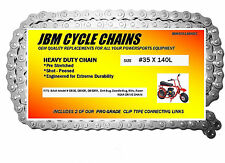 Baja Mini Bike Chain 35 X 140 Links Doodle Bug, Blitz, Racer, 2 Master Links