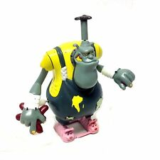 """1998 Dream Works Movies TOONSYLVANIA  5"""" NOISY PHIL wind up action figure toy"""