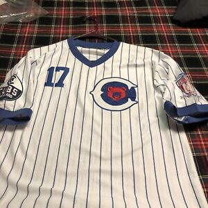 negro league baseball jersey Cleveland Cubs Size Large
