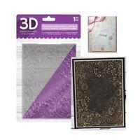 Flourishing Frame Embossing Folder Floral Crafter's Companion Folders 3D 5x7