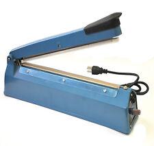 """Manual Impulse Sealer 12"""" (300) Heat Sealing Machine Poly PE PP Plastic Bag Film"""