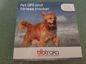 NEW Biotraka GPS & Fitness Dog Tracker Black