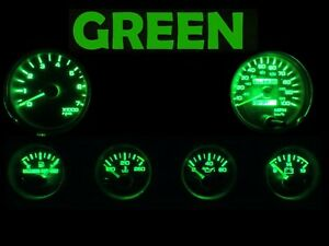 Gauge Cluster LED Dashboard Bulb Green For Jeep 92 95 Wrangler YJ