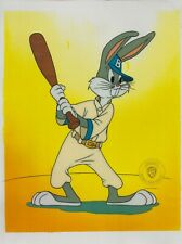 Baseball Bugs - Bugs Bunny Sericel cel 1992 Play ball! Hey batter batter