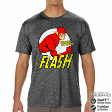 Officially Licensed The Flash- Fastest Man Alive Performance Men's T-Shirt S-XXL