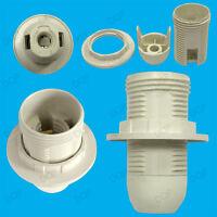 Small Edison Screw SES E14 Light Bulb Lamp Holder Pendant Socket Lampshade Ring