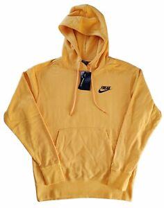 Nike Giannis 'FREAK' Pullover Hoodie Yellow Men's Medium CZ0439-739