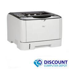 Ricoh Aficio SP 3500n Network Monochrome Black & White Laser Printer w/ Toner