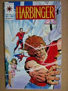 1992 VALIANT COMICS HARBINGER #2 SHOOTER STORY NO COUPON