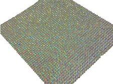 2000 2mm BULK Sheet Self Adhesive AB CLEAR DIAMANTE Stick On Rhinestone GEMS