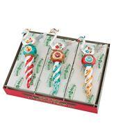 Christopher Radko Nostalgic Holiday Set of 3 Bird Icicle Christmas Ornaments