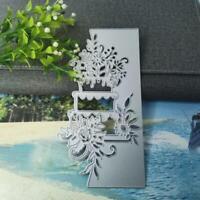 Flower Cake Metal Cutting Dies Stencil Scrapbooking Card Embossing Crafts DIY